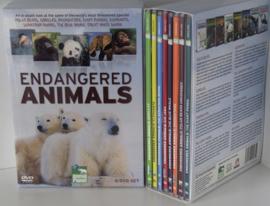 BESCHERMDE DIEREN 8 DVD BOX NIEUW