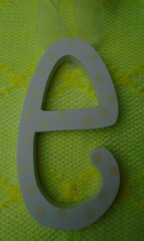 EASTER LETTERS WIT- GEEL
