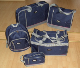 REISKOFFERSET (TRAVELBAGS) GROTE 5 DELIGE SET