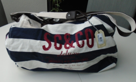 TAS REISTAS SHOPPER SC & CO BLAUW