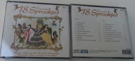 SPROOKJES 18 KLASSIEKE DUBBEL CD DOOS 24 stuks