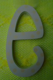 OSTER LETTERS WIT- GEEL