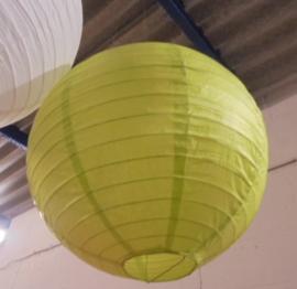 LAMPION FEEST DECORATIE APPELGROEN DIA 40 CM 3 stuks