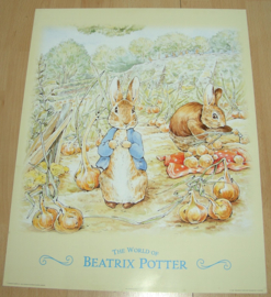 KONIJNEN THE WORLD OF BEATRIX POTTER 1 POSTER