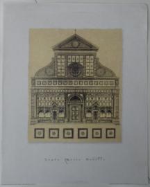 POSTER SANTA MARIA NOVELLA 50 x 40 cm