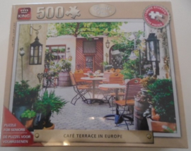 KING PUZZEL PLUS 500 TERRACE EUROPA