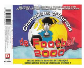 DE FOOTBALL 2000 CHAMPIONS d EUROPE