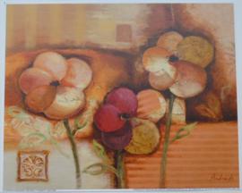 POSTER 25x20 cm FLOWERS II