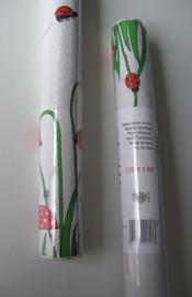 TAFELPAPIER, TAFELKLEED OP ROL 1,18 x 6 mtr Wit deco 2 rollen = 12 mtr