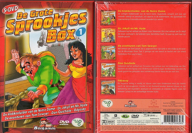 KINDER DVD 5-BOX DE GROTE SPROOKJES BOX