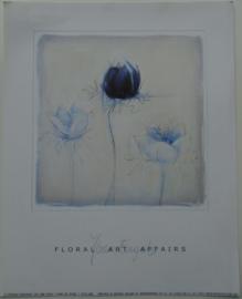 POSTER 25x20 cm FLOREL ART AFFAIRS