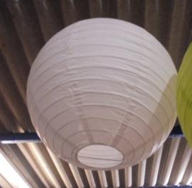 LAMPION FEEST DECORATIE WIT DIA 40 CM 3 stuks