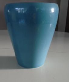 BLOEMPOT TURQUOISE H 16,5 Dia 13 cm