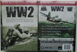 WAR MOVIES COLLECTION WW II  4 DVD BOX