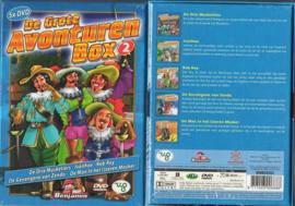 KINDER DVD 5-BOX DE GROTE AVONTUREN BOX DEEL II