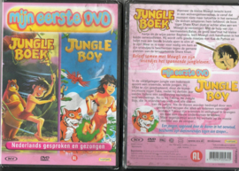 JUNGLE BOEK &  JUNGLE BOY 194 KINDER DVD 2 SPROOKJES