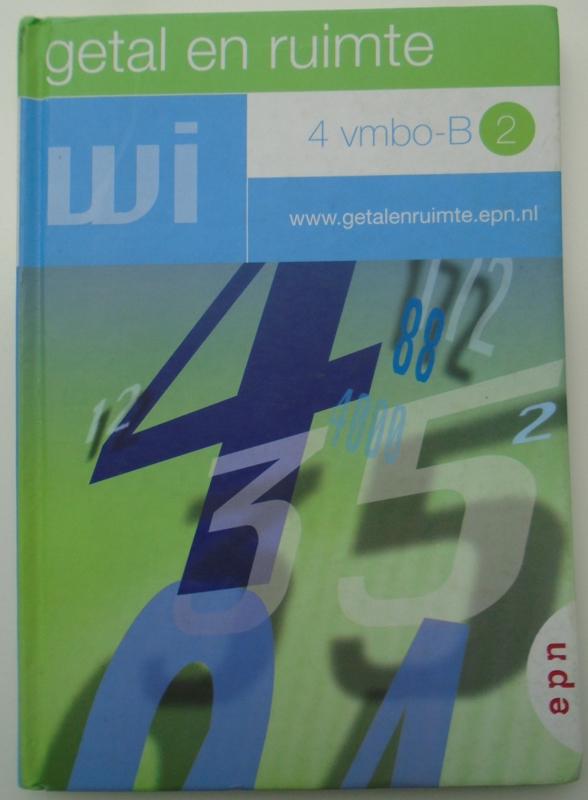 GETAL EN RUIMTE 4 VMBO-B2 9789011083103
