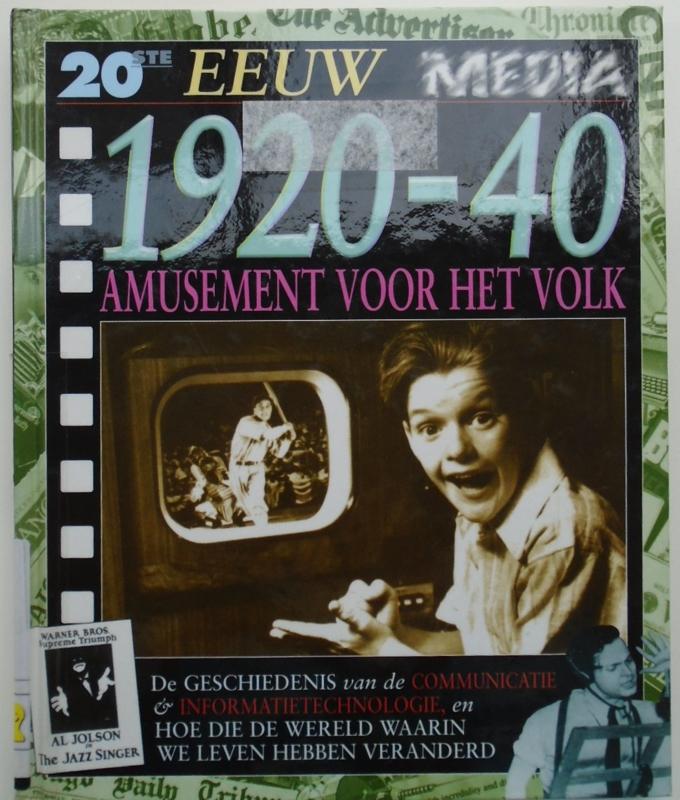 1920-1940 AMUSEMENT VOOR HET VOLK 9789054957201