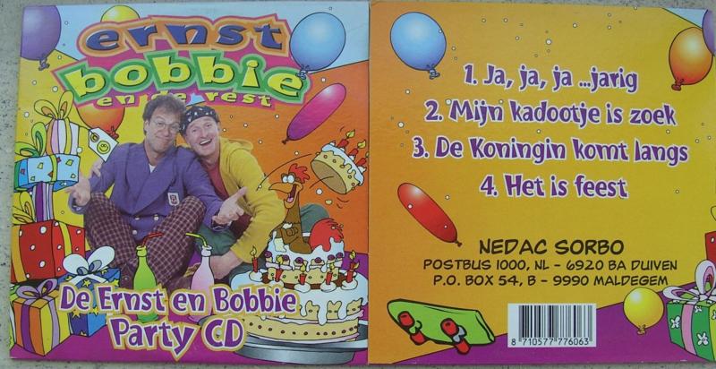 ERNST BOBBIE EN DE REST PARTY CD