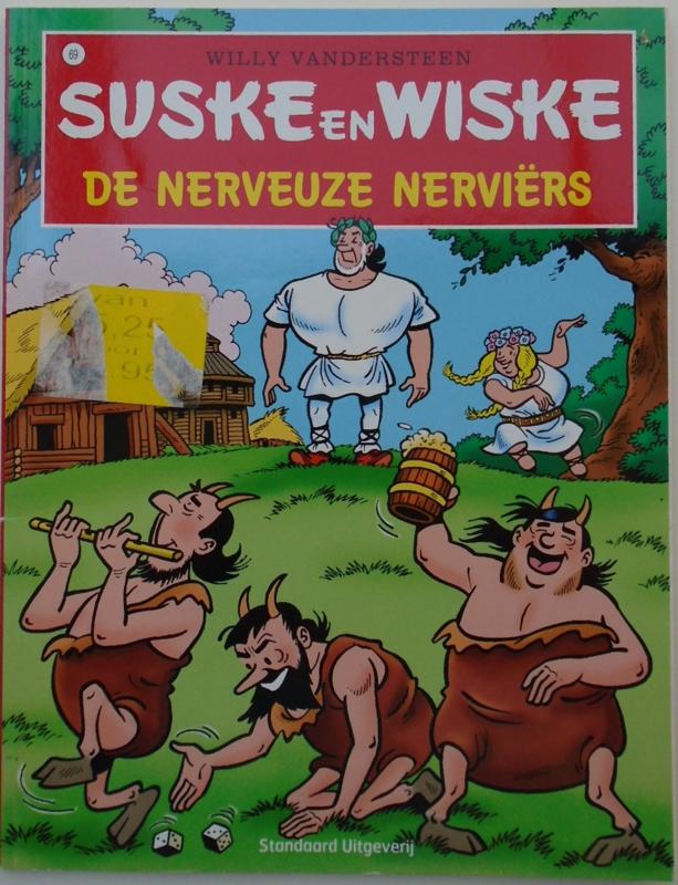 SUSKE EN WISKE DE NERVEUZE NERVIERS 9789002106842
