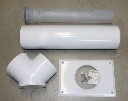 Junkers Basisset voor rookgasafvoer naar schouw AZB 616/1 80/80