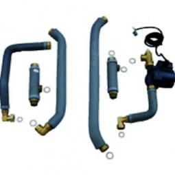 Junkers Installatieset N° 1643 voor combinatie met boiler Storacell ST135/160-3 E naast de ketel