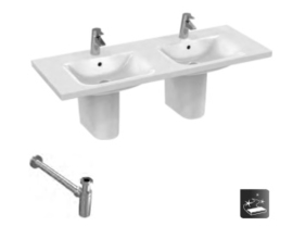 Ideal Standard Dubbele Wastafel Connect Vanity