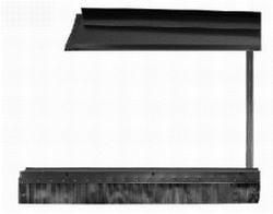 Junkers FKI 12-2  Uitbreidingsset voor bevestiging van horizontaal zonnepaneel FKC-2 W in schuin dak