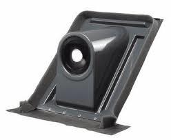 Junkers Afwerkingsplaat voor horizontale dakdoorvoer AZ 122