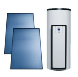 Vaillant AuroStep Plus 250 Mono + 2 verticale zonnepanelen