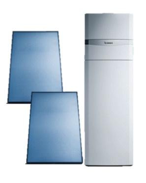 Vaillant AuroCompact VSC-D-306 + 2 verticale panelen