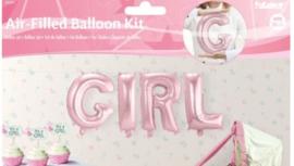 Folieballon Girl