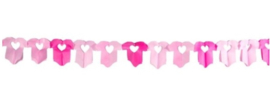 Geboorte slinger  roze