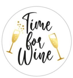 Time for wine per 10 stuks