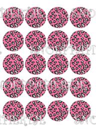 Pink Panter 2 cupcake print