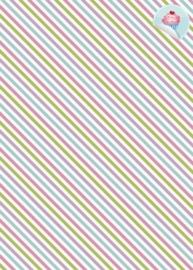 Diagonaal 7 Pastel