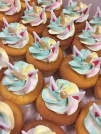 Doosje mini cupcakes Unicorn