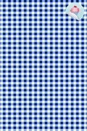 BB Ruit Donker Blauw