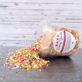 BAKD Baking Sprinkles - Rainbow strands