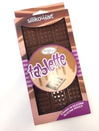 Silikomart mini chocolade reepjes vorm