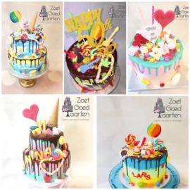 Cakebox kit non bake Candy Dripcake