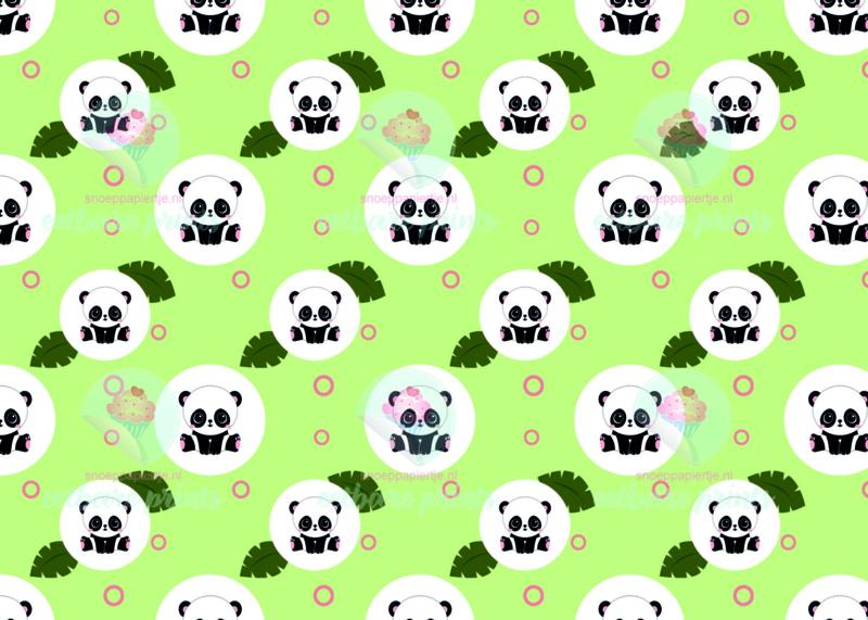 Panda groen