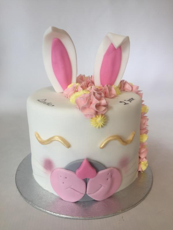 Cakebox kit non bake Konijn