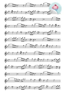 Bladmuziek 1