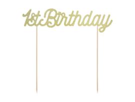 Caketopper 1st birthday