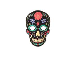 Dia de Los Muertos Masker Zwart