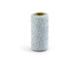 Bakers  twine - sky blue (50 m)