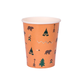 Indian Forest Bekers, 8st, 255ml