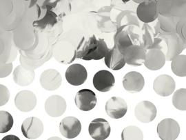 Zilveren confetti