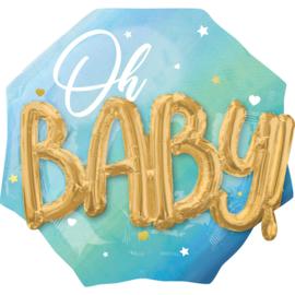 Oh Baby, Boy Folieballon 30inch